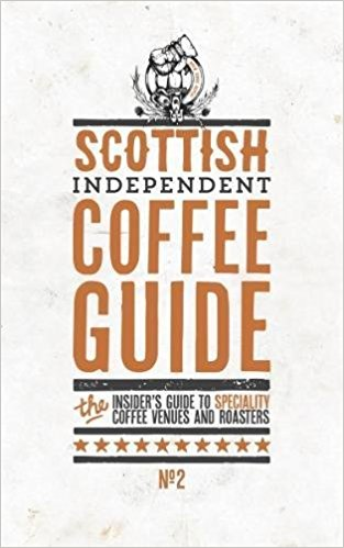 Book cover: Scottish Independent Coffee Guide No2
