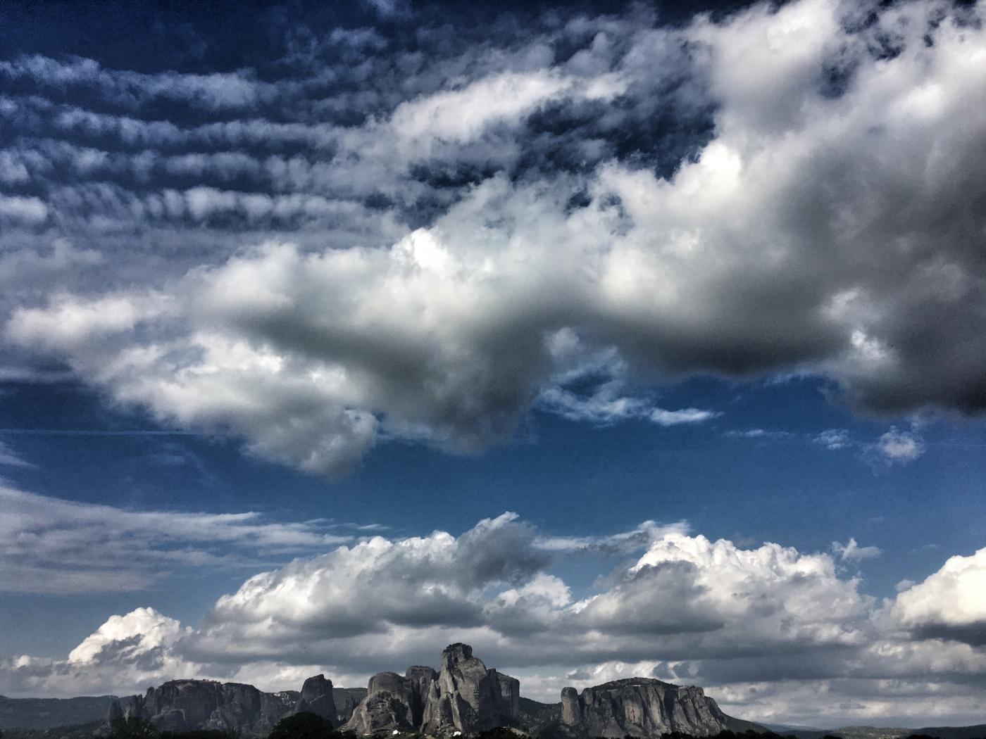 Meteora Skyline and Sky