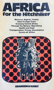 Book Cover: Africa for the hitchhiker -  by Fin Biering-Sørensen and Torben Jørgensen - published 1974 by Bramsen & Hjort